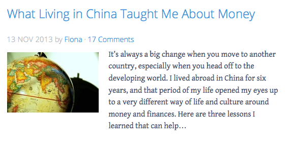 What Living in China Taught Me About Money